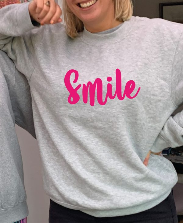 Smile – Beautiful superior quality O'l Faithful Grey Sweatshirt including Free Delivery
