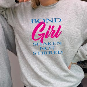 Bond Girl - O'l Faithful heavyweight Grey Sweatshirt with FREE DELIVERY-0