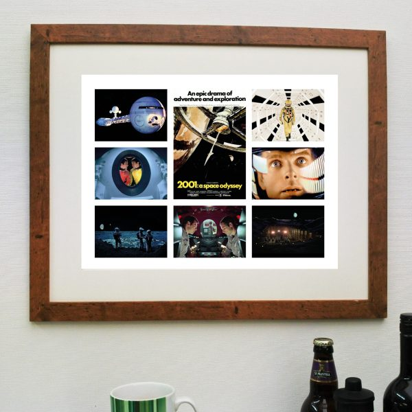 2001 A Space Odyssey Scene'it Film Poster including Free Delivery