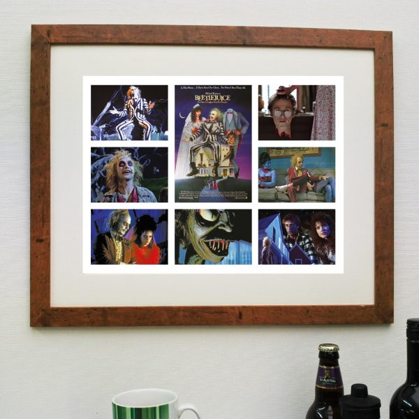Beetlejuice Poster – Fantastic Movie Scene'it poster including Free Delivery
