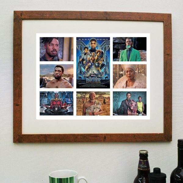Black Panther Movie Scene'it Poster including Free Delivery