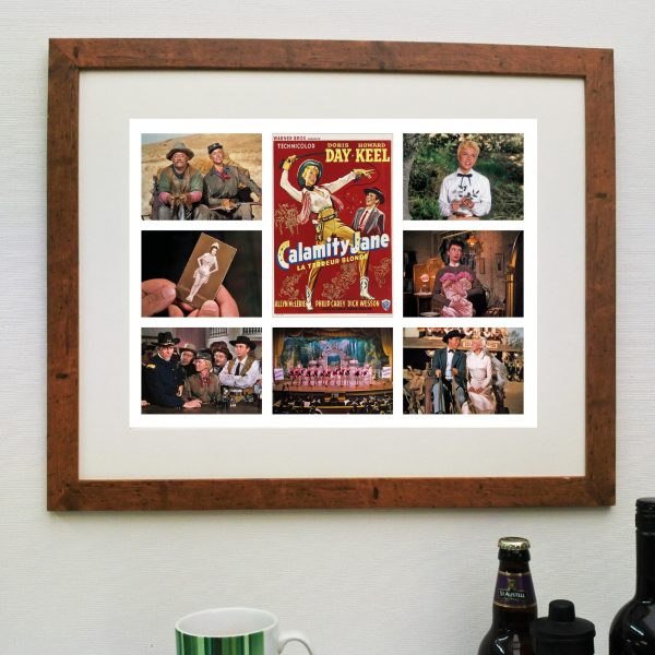 Calamity Jane Fantastic Scene'it Poster INCLUDING FREE DELIVERY