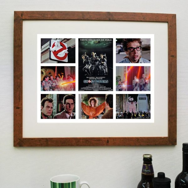 Ghostbusters Movie Scene'it Poster Inc Free Delivery