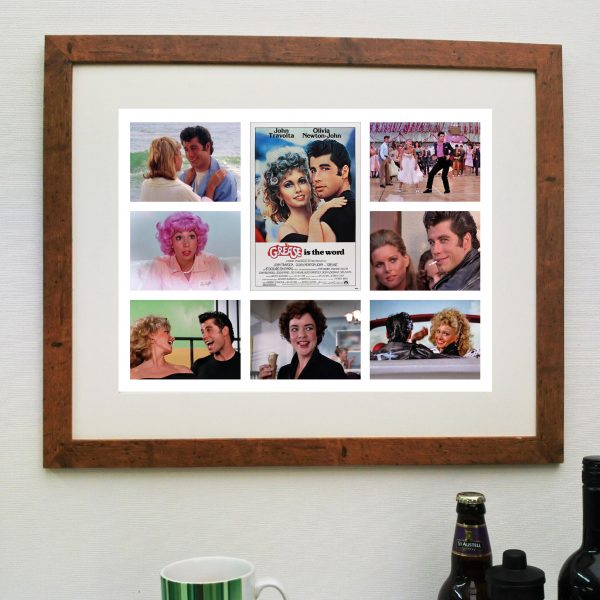 Grease Movie Scene'it Poster inc Free Delivery