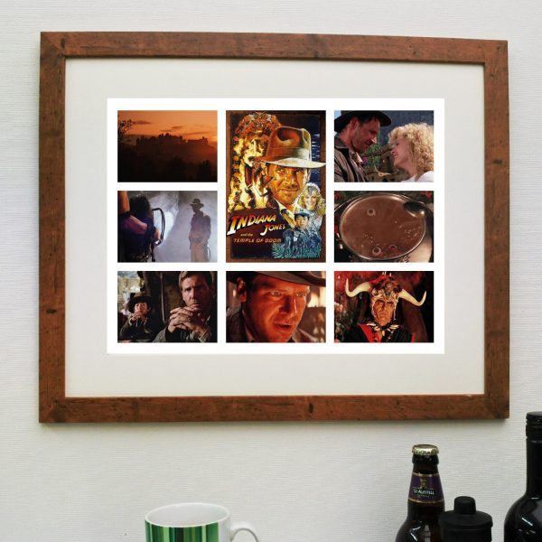 Indiana Jones & The Temple of Doom – Movie Scene'it Poster inc Free Delivery