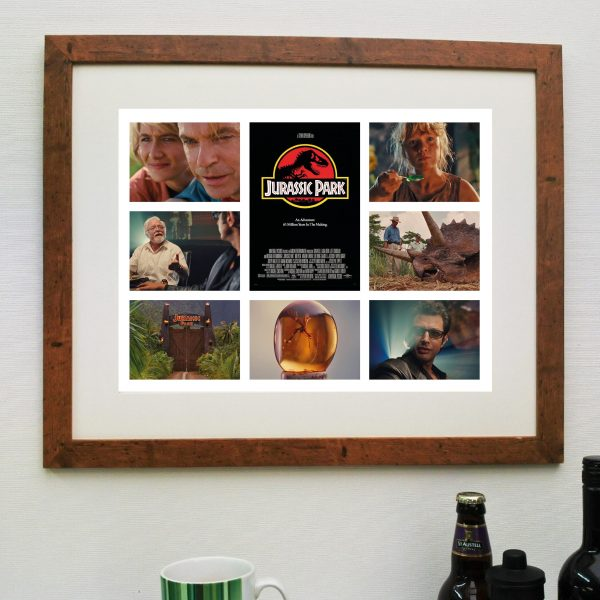 Jurassic Park – Movie – Scene'it Poster inc Free Delivery