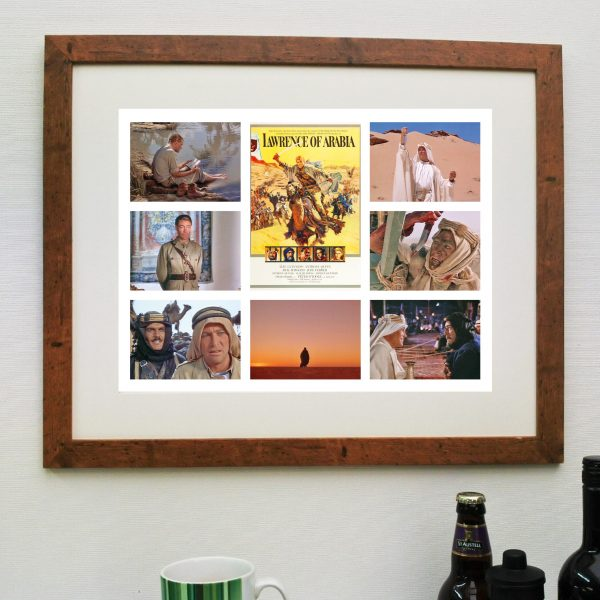 Lawrence of Arabia Movie Scen'it Poster – inc Free delivery