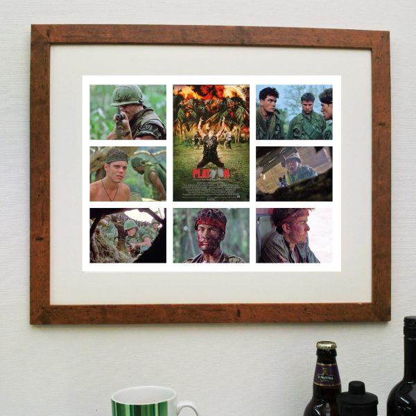 Platoon Movie – Scene'it Poster inc Free Delivery
