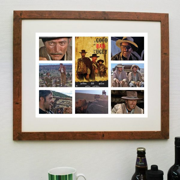 The Good, The Bad and the Ugly Movie – Scene'it Poster inc free delivery