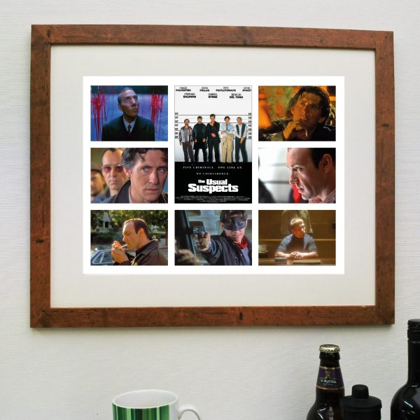 The Usual Suspects Movie – Scene'it poster inc free delivery