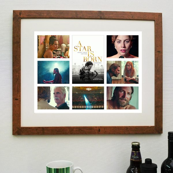 A Star is Born 2018 – Scene'it Movie Print – inc Free Delivery