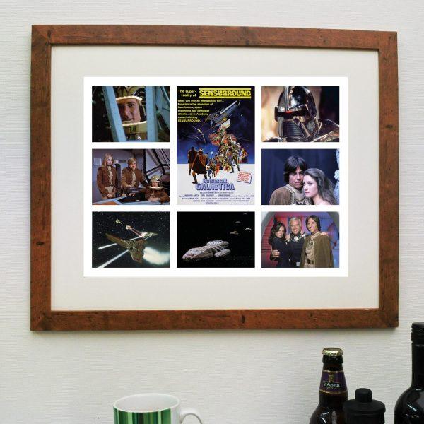 Battlestar Galactica – Scene'it Movie poster inc FREE DELIVERY