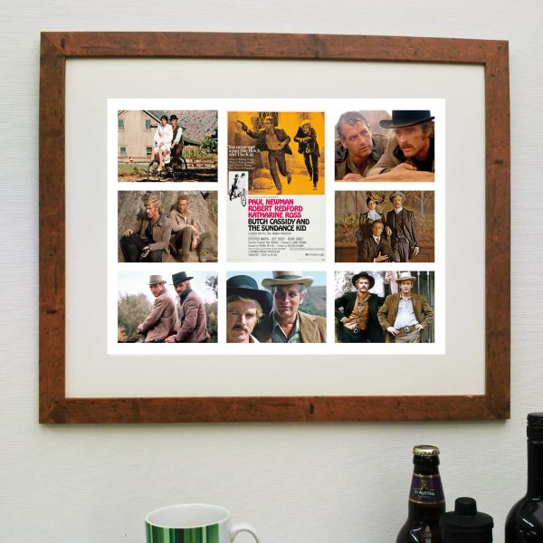 Butch Cassidy & the Sundance Kid – Scene'it Movie Poster inc Free Delivery
