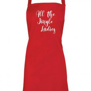 All the Jingle Ladies - Christmas Apron