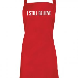 I Still Believe - Christmas Apron