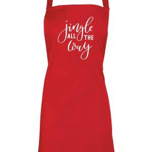 Jingle All the Way - Christmas Apron