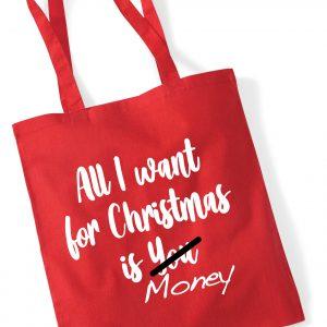 All I Want - Christmas Tote Bag