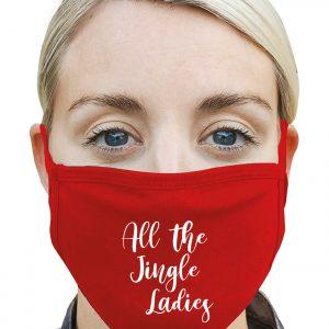 All the Jingle Ladies - Christmas Mask