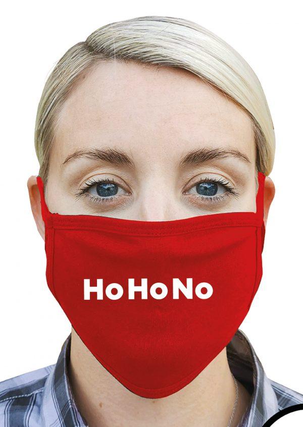 Ho Ho No – Christmas Face Mask