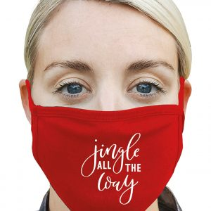 Jingle All the Way - Christmas Mask