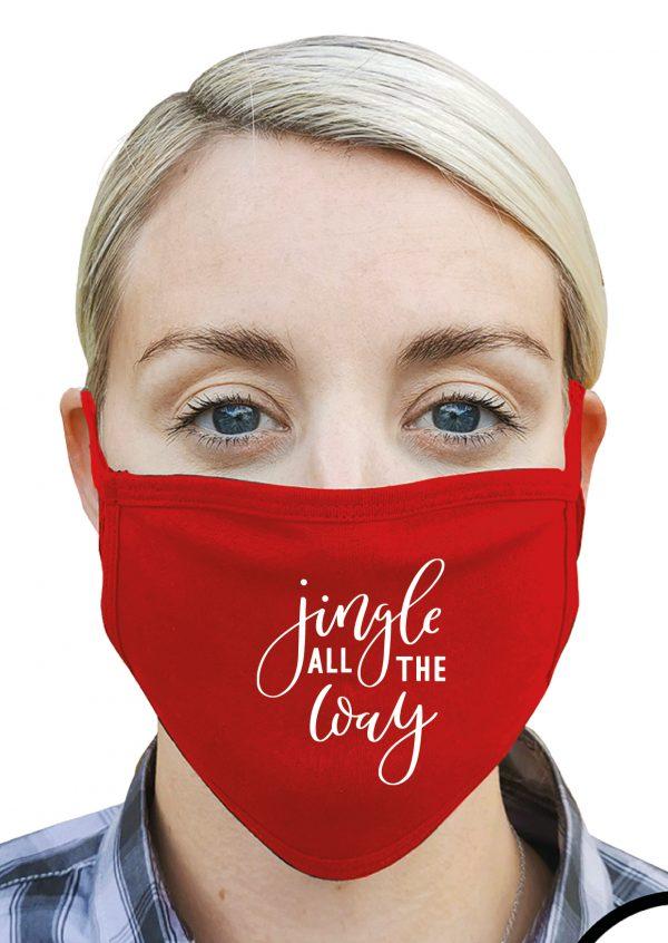Jingle All the Way – Christmas Face Mask