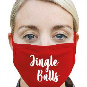 Jingle Balls - Christmas Mask