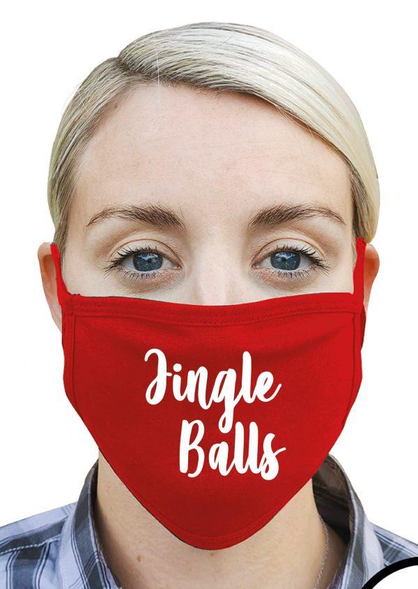 Jingle Balls – Christmas Face Mask