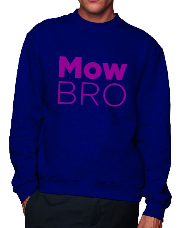 Mow Bro – Sustainable Organic Unisex Sweatshirt