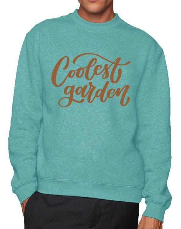 The Coolest Garden – Sustainable Organic Unisex Sweatshirt
