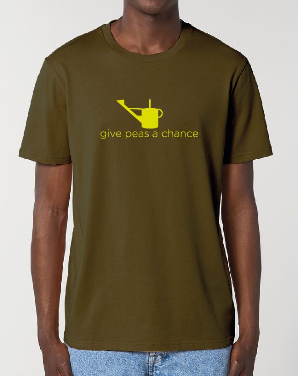 Give Peas a Chance – fantastic Gardening themed Unisex T-Shirt