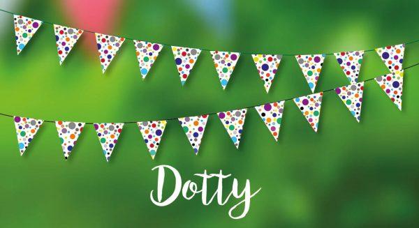Dotty Bunting