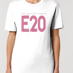East East East London E20 - Your East Postal T Shirt