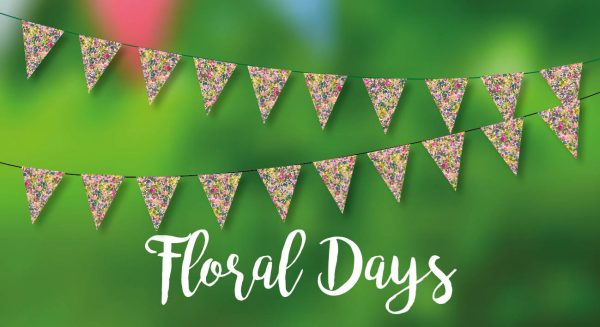 Floral Days Bunting