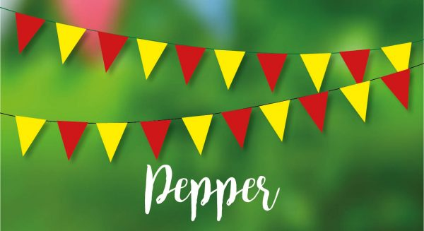 Pepper Bunting