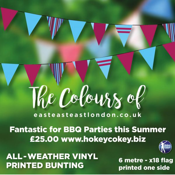 The Colours of East London – All-Weather Garden Bunting